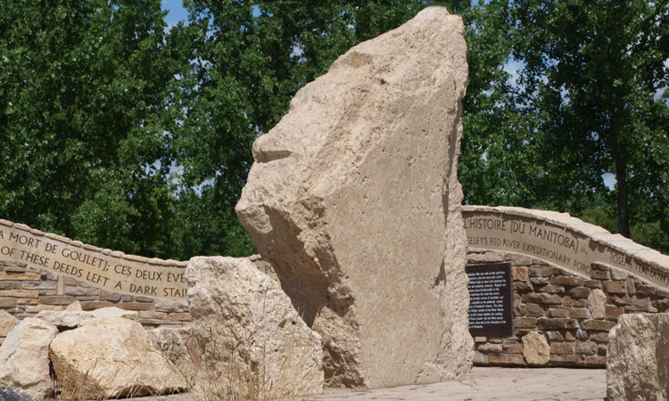 Stony Mountain Feature Stone